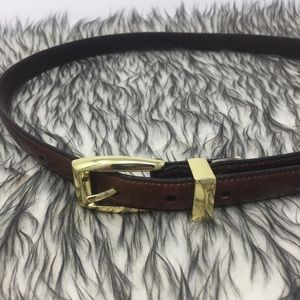 Brown Sz Medium Fossil Belt